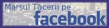 Marsul Tacerii pe Facebook